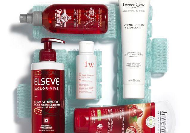 Les meilleurs soins pour cheveux colorés