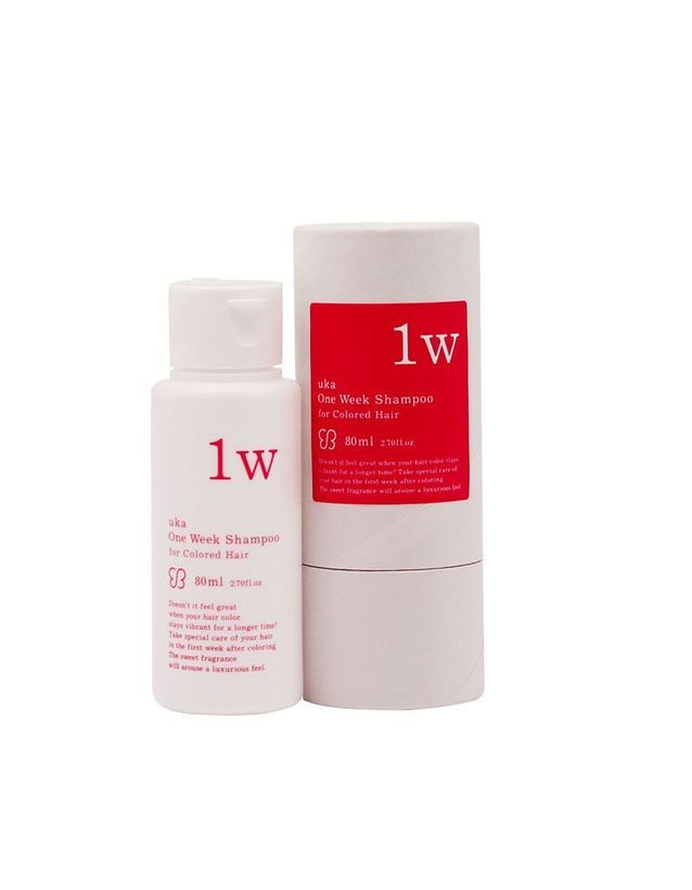 One Week Shampoo, Uka, 80 ml, 12,60 €.