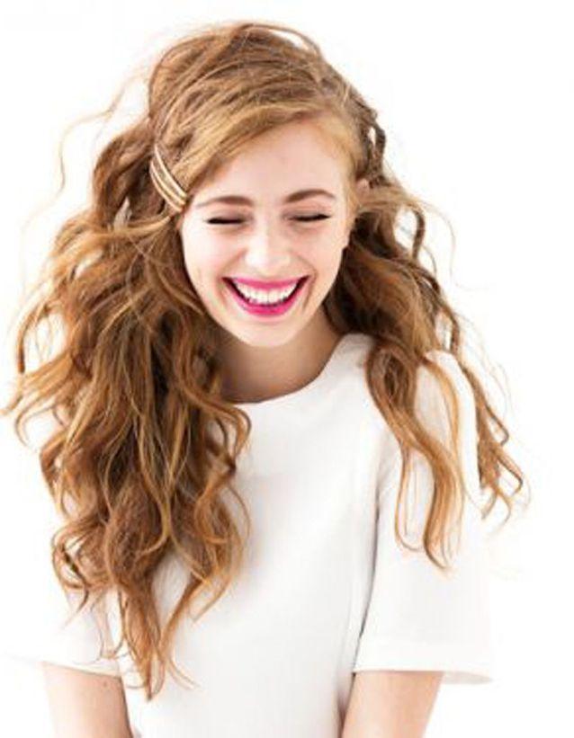 Coupe cheveux bouclés femme automne-hiver 2016