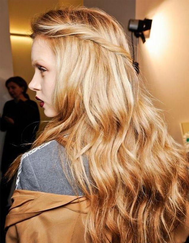Cheveux longs dégradés 2016