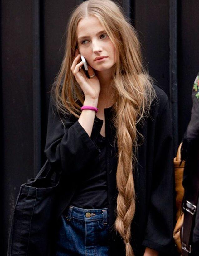 Coiffure cheveux longs dégradé automne-hiver 2018