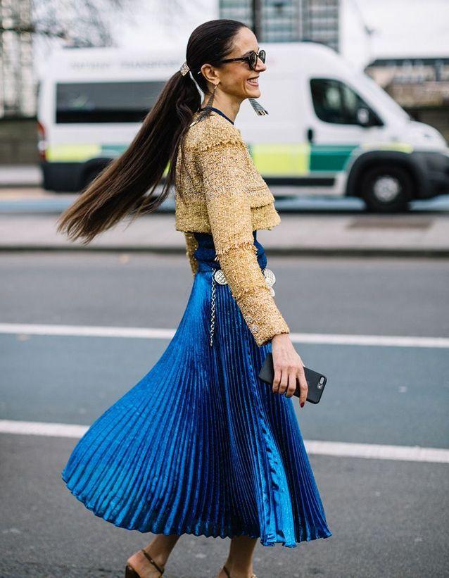 Coiffure cheveux longs raides automne-hiver 2018