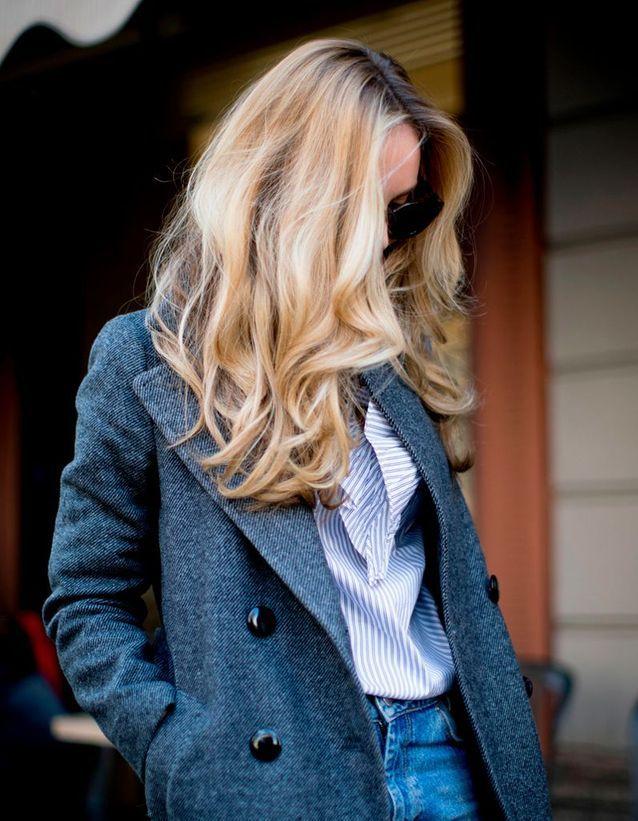 Cheveux ondulés longs printemps été 2017