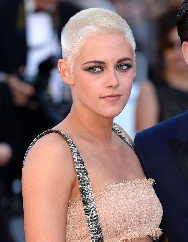 Kristen Stewart les cheveux rasés