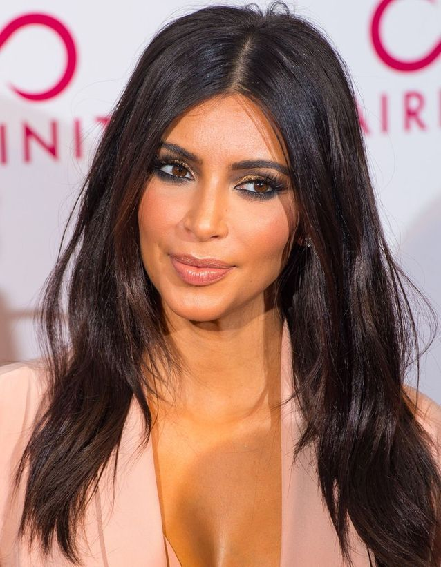 Coupe de cheveux dégradée brun