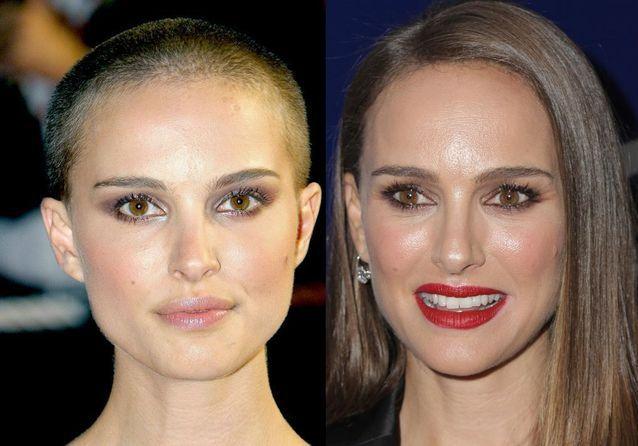Avant / après : ces actrices se sont rasé les cheveux pour un film
