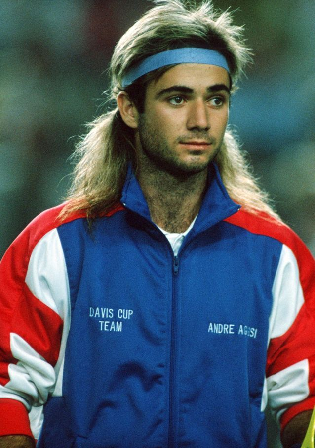 Andre Agassi avant