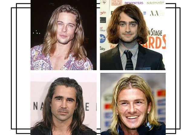 Cheveux long homme thomas