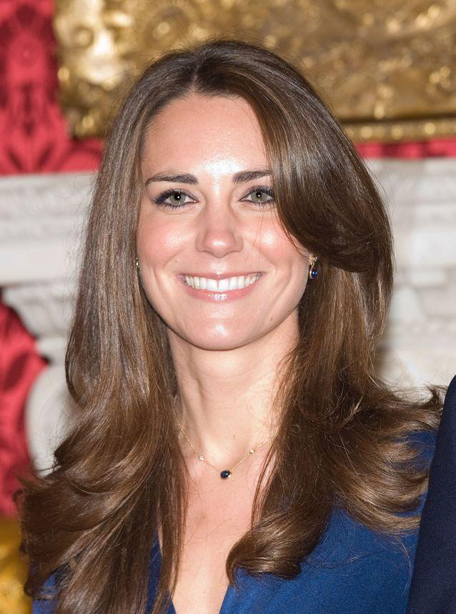 Kate Middleton et ses cheveux châtains