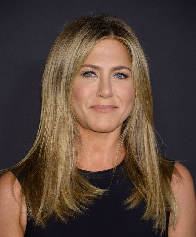 Jennifer Aniston et sa chevelure miel