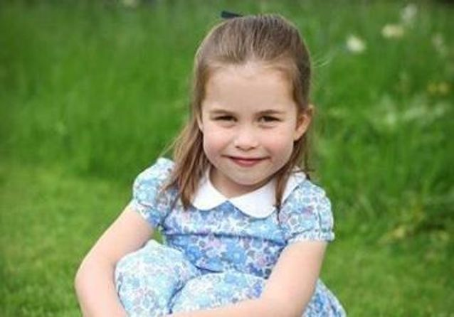 L'adorable nouvelle coiffure de la princesse Charlotte