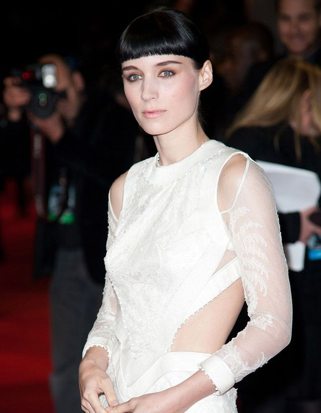 La frange courte de Rooney Mara