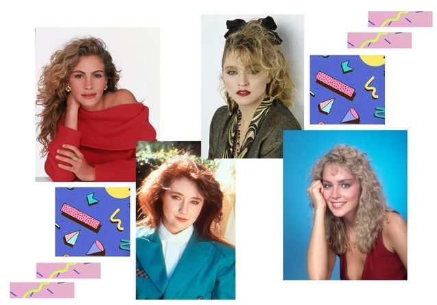 Les coiffures des stars dans les années 80