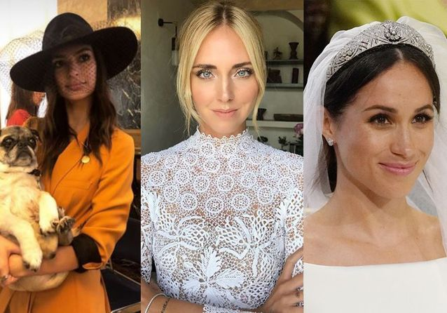 Meghan Markle, Chiara Ferragni… Les plus belles coiffures de mariée de 2018