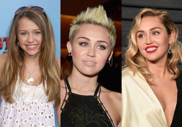 Miley Cyrus : son incroyable évolution coiffure, de « Hannah Montana » à « Prisoner »