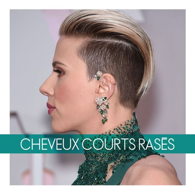 Les Cheveux Courts Ou Rasés Oscars 2015 Les Plus Belles