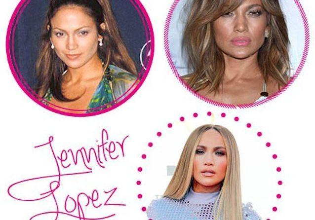 Toutes les plus belles coiffures de Jennifer Lopez
