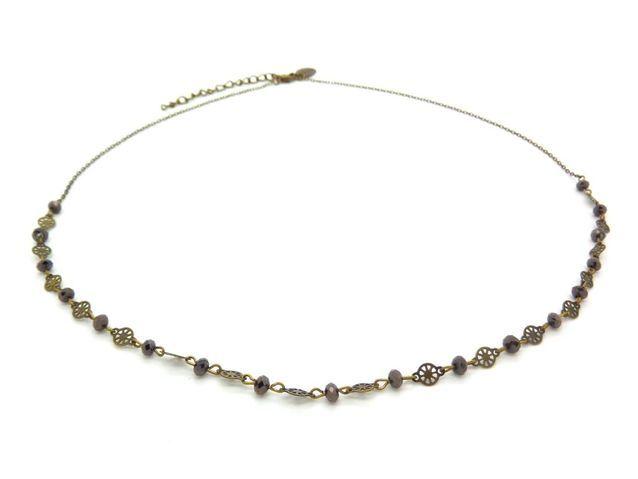 Le headband en perles de cristal