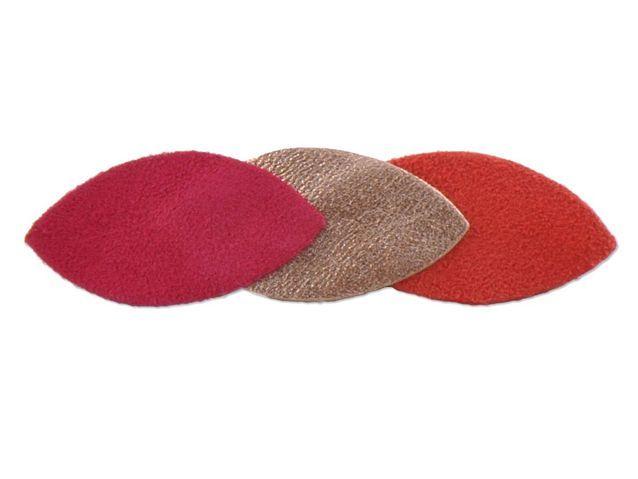 Les barrettes pétales de cuir