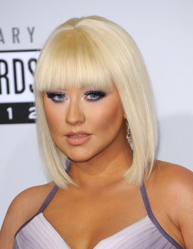 Le blond Barbie de Christina Aguilera