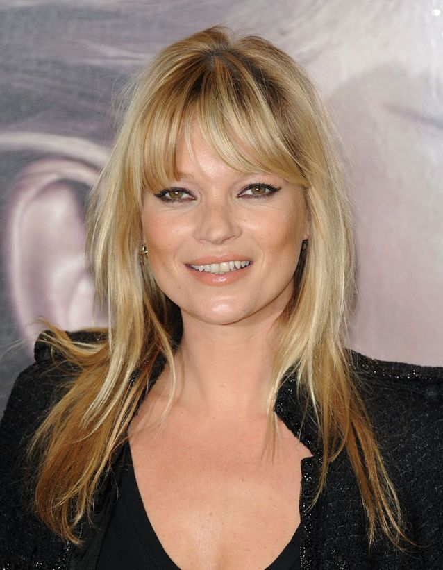 Le blond mythique de Kate Moss