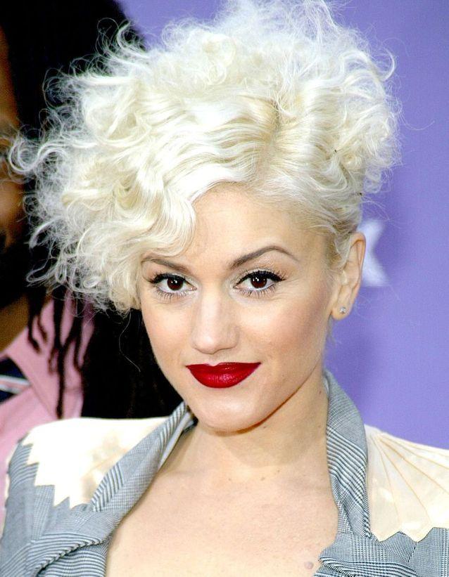Le blond platine de Gwen Stefani