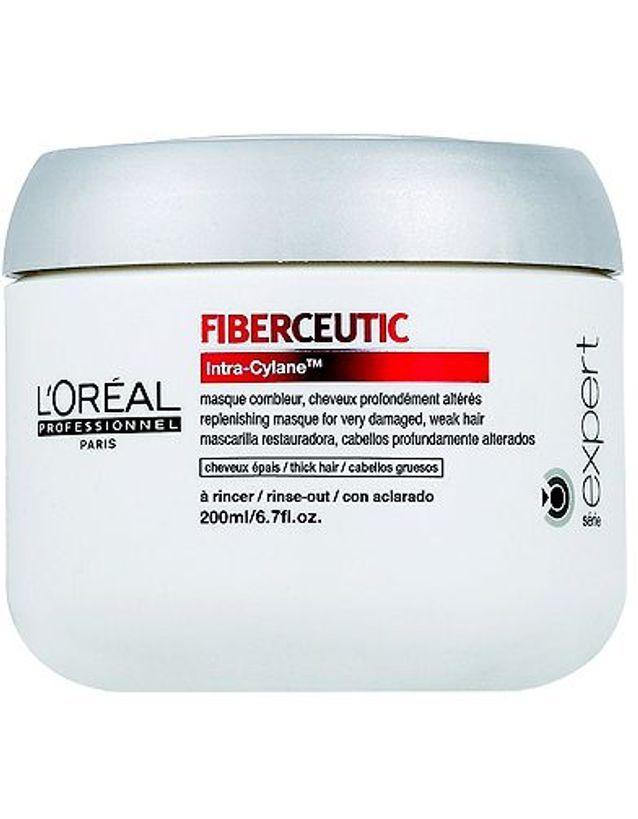 Beaute soin cheveux coiffure masque fiberceutic l oreal
