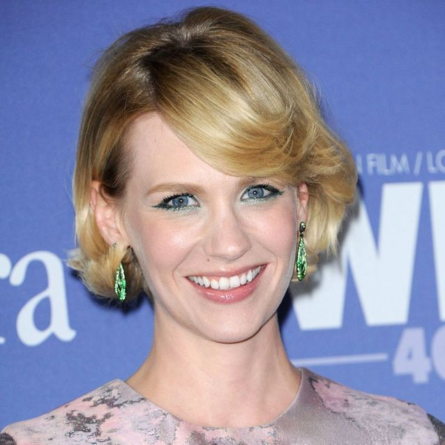 Le carré court de January Jones
