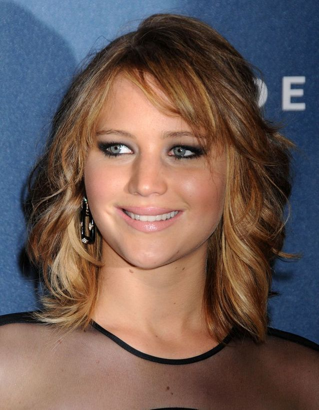 Le carré long de Jennifer Lawrence
