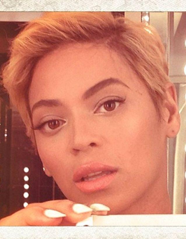 Beyoncé les cheveux courts