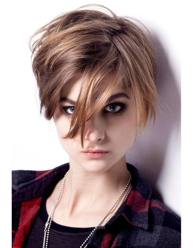Coupe courte rock n roll femme