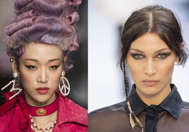 Les plus belles coiffures de la Fashion Week de Milan