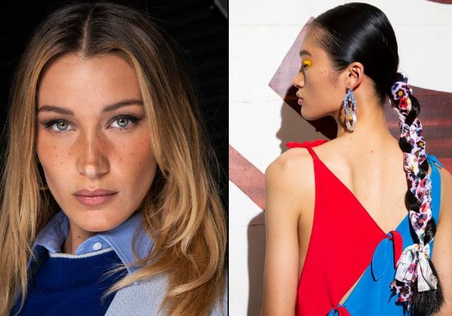 Les plus belles coiffures de la Fashion Week de New York