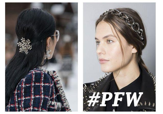a34741da92 Les plus belles coiffures de la Fashion Week de Paris - Elle