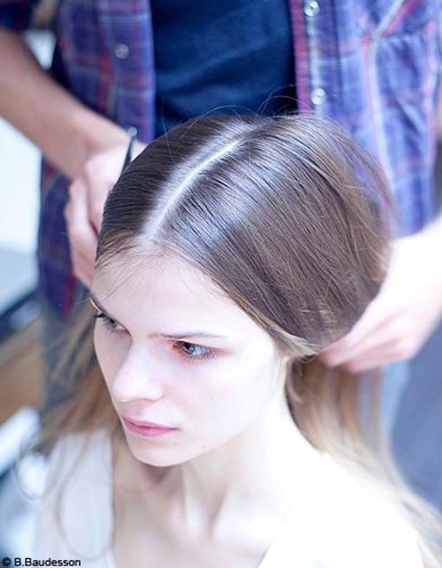 Beaute cheveux coiffure conseils pas a pas Fred Biraultl chignon muse 1
