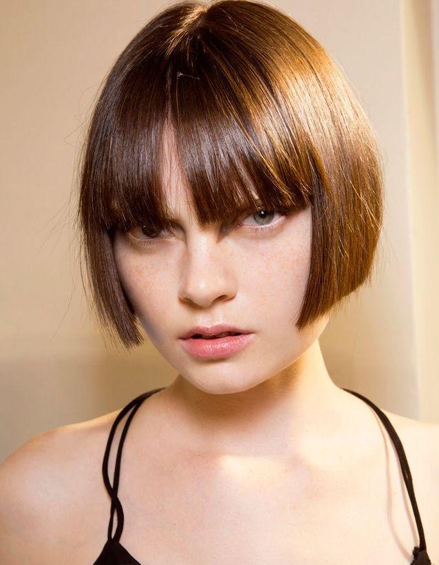 Frange cheveux fins