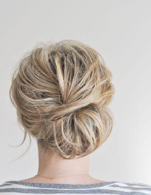 Coiffure de mariée Chignon flou , Les plus jolies coiffures