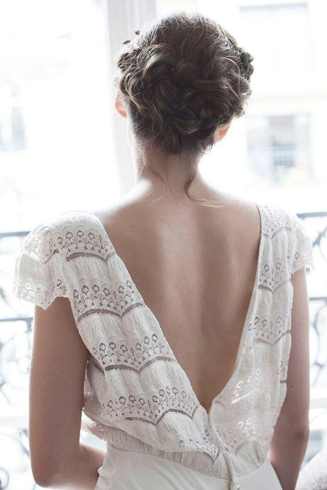 Coiffure de mariée élégante