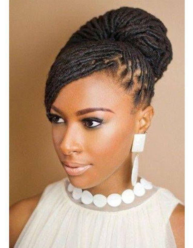 Coiffure de mariée Locks chics - Les plus jolies coiffures de mariée ... 3c520e0fda7