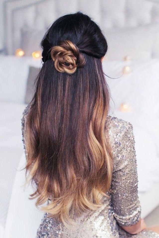 Coiffure de mariée semi attaché , Les plus jolies coiffures