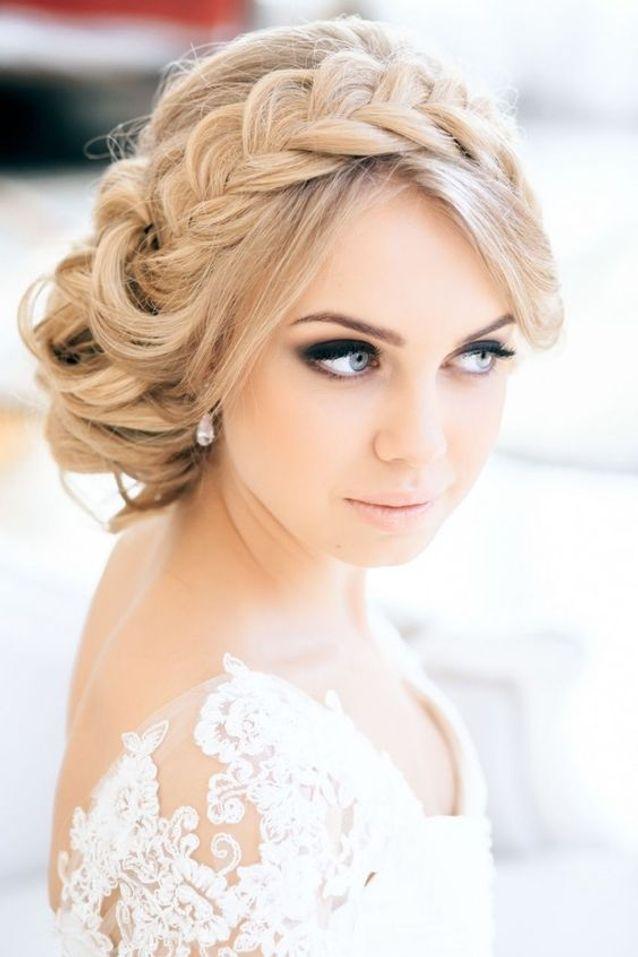 Coiffure de mariée tresse headband