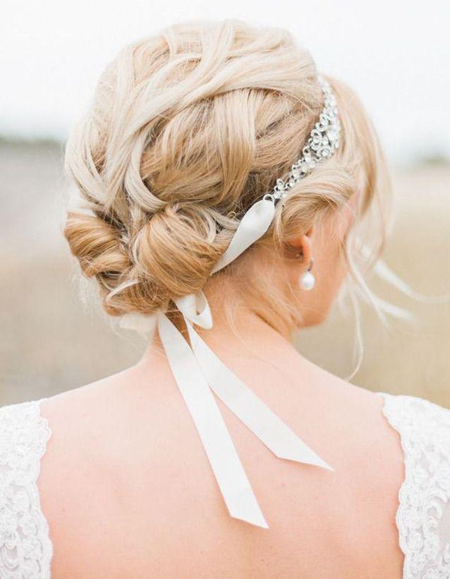Coiffure mariée headband