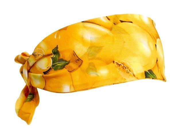 Le bandeau foulard imprimé fruits d'Asos