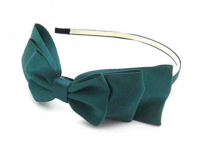 Le headband à nœud vert de headband.fr,