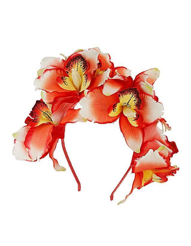 Le serre-tête fleurs de Topshop