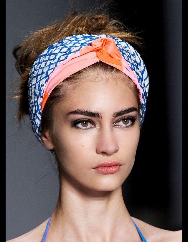 Le turban ethnique de Marc by Marc Jacobs