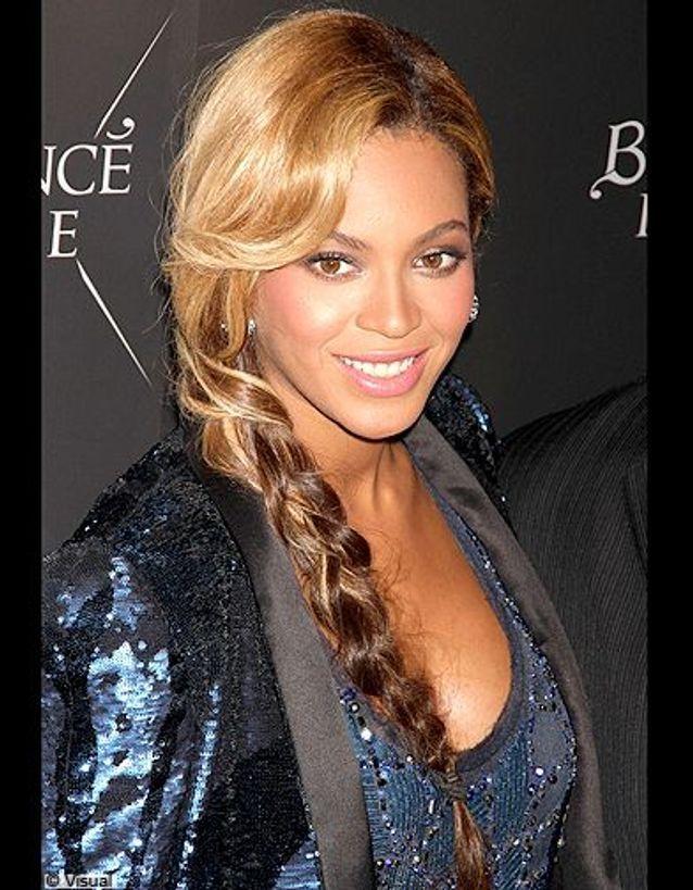 Beyonce tresse décoiffée
