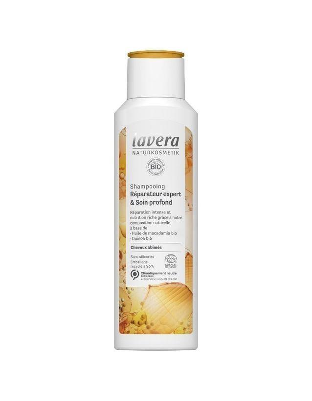 Shampoing réparateur expert & soin profond, Lavera