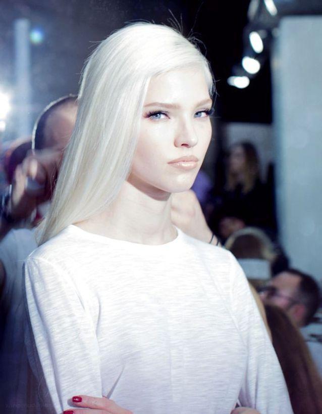 Cheveux blancs défilé