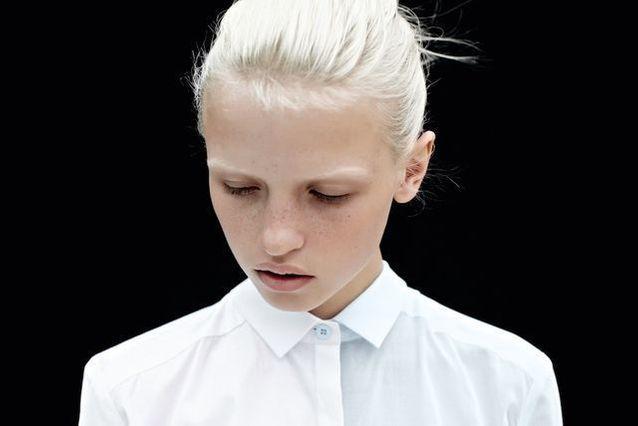 Cheveux blancs naturels